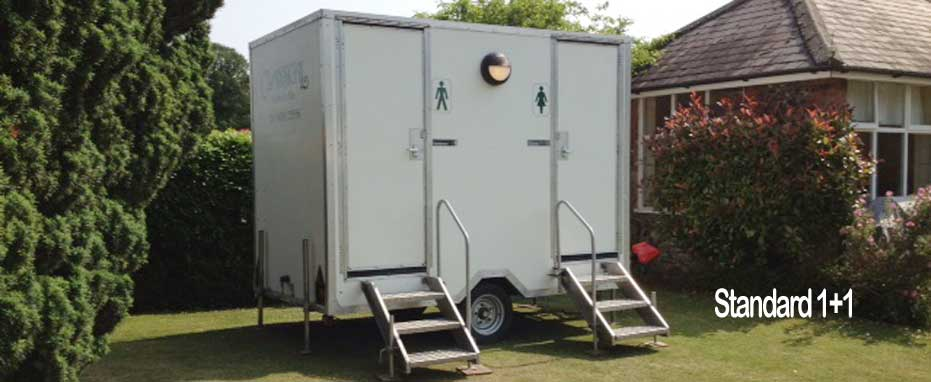 Standard Mobile Toilet Unit - Max 100 Guests